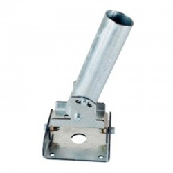 Поворотный кронштейн ДКУ 03 СБ предназначен для настенного крепления уличных консольных светильников