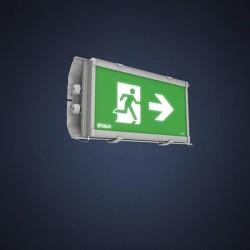 Светодиодный указатель аварийного выхода LED 9701