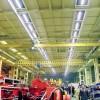 Использование светильника Оптолюкс-Лайн-120 А для освещения цеха